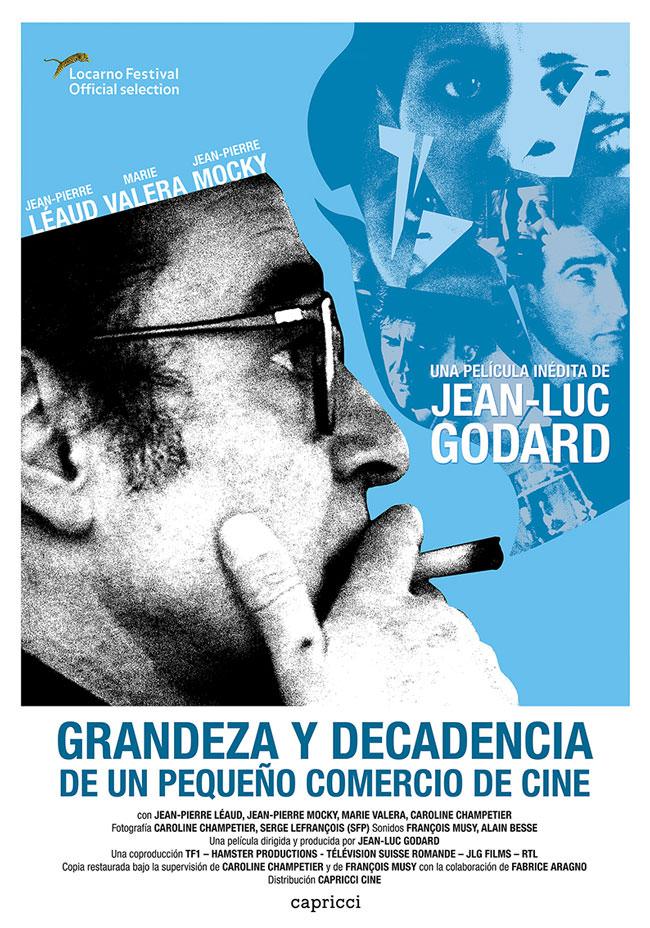 Póster Jean-Luc Godard